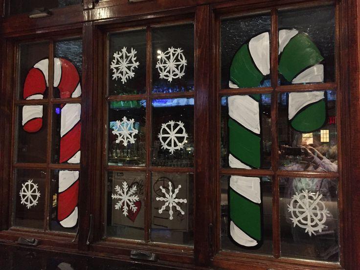 3rd & 7 Tavern, Marine Park, Brooklyn Christmas window