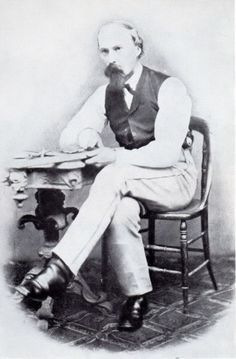 *DR.SAMUEL MUDD~After assassinating Lincoln,Booth rode w/DavidHerold toMudd's home in the early hrs of the15th for surgery on his fx leg,before crossing intoVA.Some time that day,Mudd must have learned of the assassin.,but did not reportBooth's visit to the authorities for24hrs.This appeared to link him to the crime,as did his various changes of story under interrogation+he was arrested.A military commission found him guilty of aiding+conspiring in a murder+he was sentenced to life…