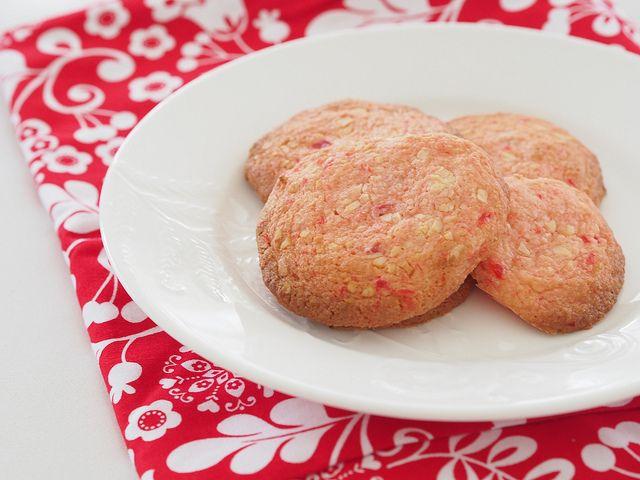 cherry almond cookies (gluten free)