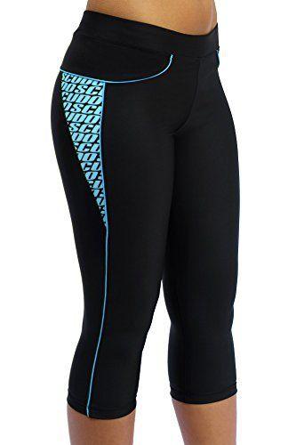 ScudoPro Capri Legging Knicker Padded Cycling Pant for Women 3/4 Blue - Size XS - http://ridingjerseys.com/scudopro-capri-legging-knicker-padded-cycling-pant-for-women-34-blue-size-xs/
