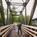 Orting bike trail engagement session. The #TacomaWeddingExpo by @bridesclub and @weddingexpos on Jan. 6-7, 2018 in the Tacoma Dome