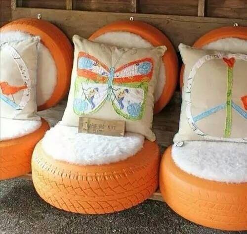 Que tal estos sillones? Geniales no?