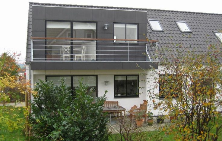 Altan i tagetage overdækker terrasse