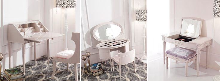 luxury small dressing tables for makeup storage  How to choose a modern dressing table for small bedrooms? - browse our small dressing table designs with mirror lights - small white dressing tables chairs, drawers, mirrors, lighting  Almost every woman, who care about her beauty, dreams of a modern dressing table in here bedroom