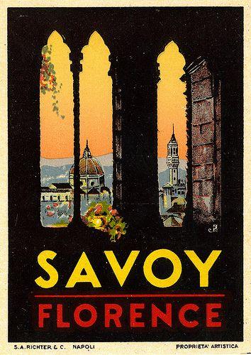 Vintage Italian Posters ~ #Italian #vintage #posters ~ Florence