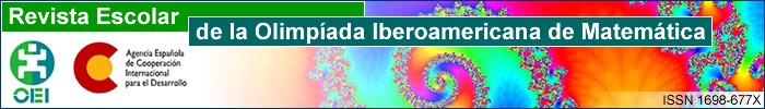 Revista Escolar de la Olimpiada Iberoamericana de Matemática