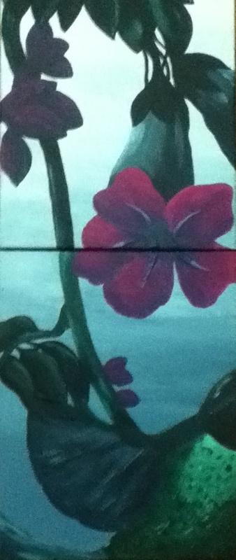 Acrylic on Canvas. 2x 50x60cm