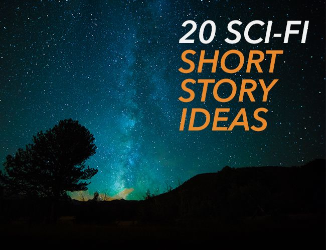 Hello, friends! Last time, I shared 20 fantasy story ideas to get your brain moving. This time, it's my pleasure to go from earth to space. It's time for...*drum roll* sci-fi story ideas!