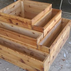 Cedar Planter Boxes by George Simpson