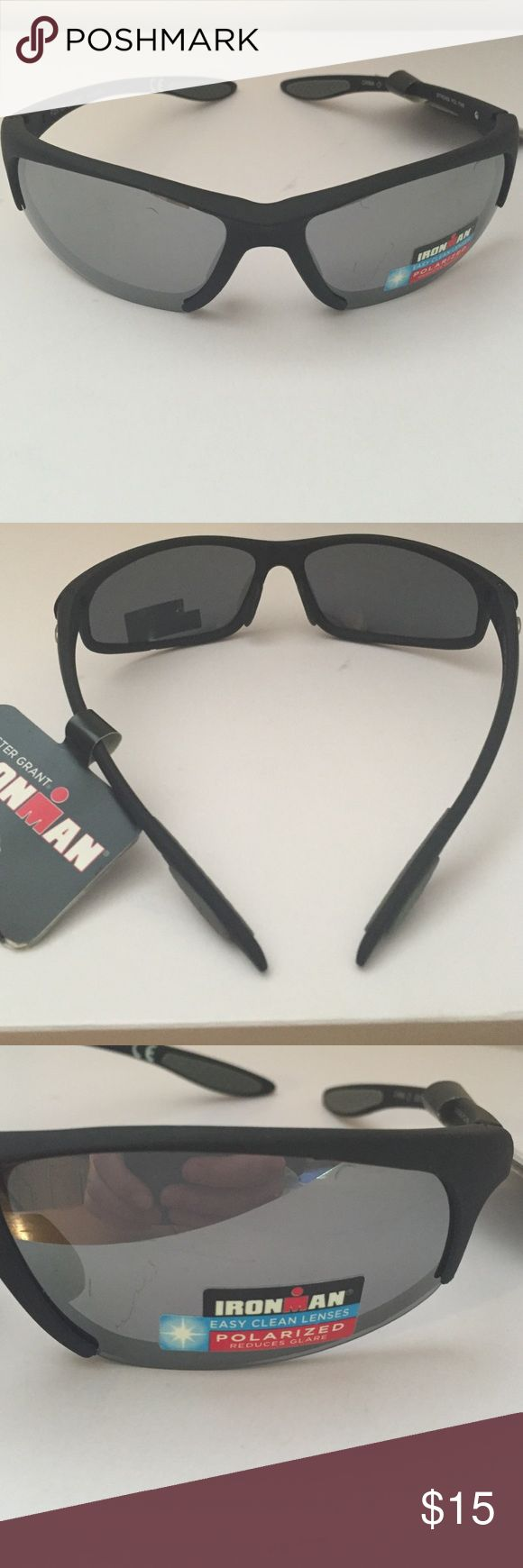 Foster Grant Ironman Sunglasses MSRP $25 Are you ready for summer? Don't forget about your eyes! Look stylish and get great protection for your eyes at the same time. MaxBlock 100% UVA/UVB protection and polarized lenses. Foster Grant Accessories Sunglasses