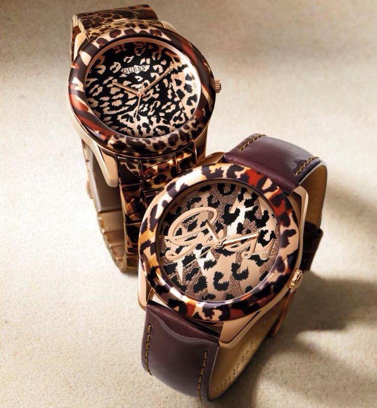 Guess kol saatleri sonbahar kış koleksiyonu