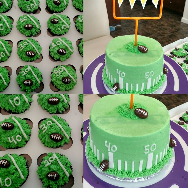25+ Best Ideas About Football Cakes For Boys On Pinterest