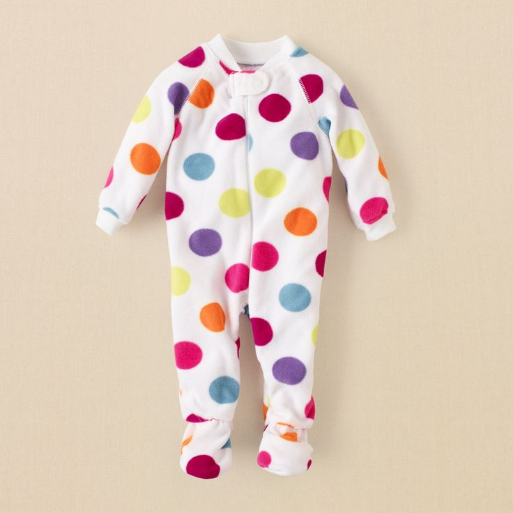 baby girl - sleep & underwear - dotted blanket sleeper   Children's Clothing   Kids Clothes   The Children's Place  11.99