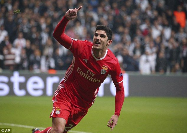 The former Benfica man has regularly been compared to compatriot Cristiano Ronaldo