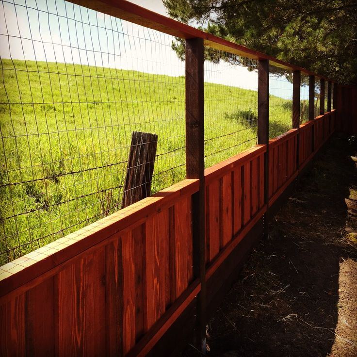 Enchanting Fence Retaining Wall Ideas Pictures - Wall Art Design ...