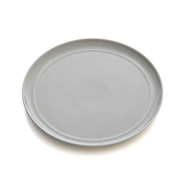 Hue Light Grey Dinner Plate