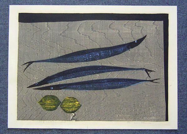 "tamami shima ""Fish and Lemons"" 1964"