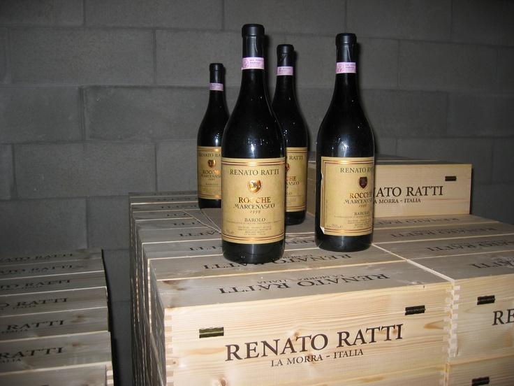 visiting Renato Ratti winery in La Mora, Italy.