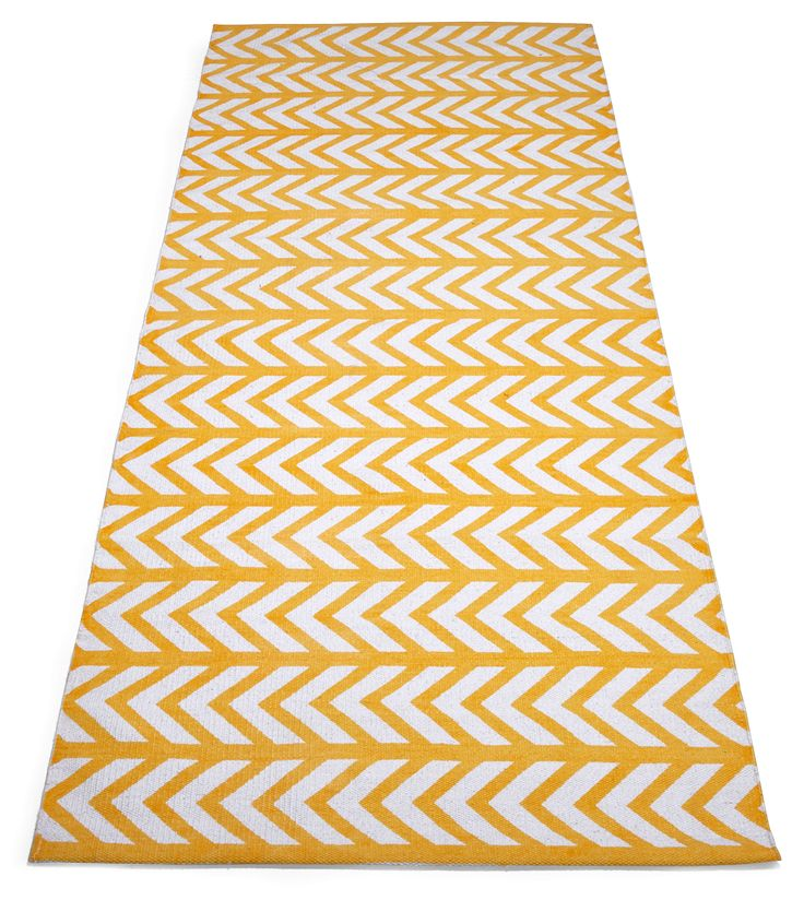 AURA-matto 80 x 200 cm (Keltainen)