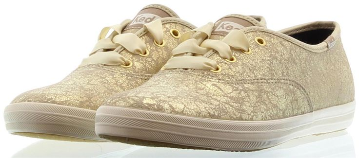 goud kleurige Keds Sneakers CHAMPION METALLIC 2