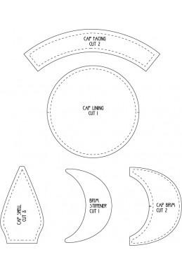 x - Pattern - Tanter Cap