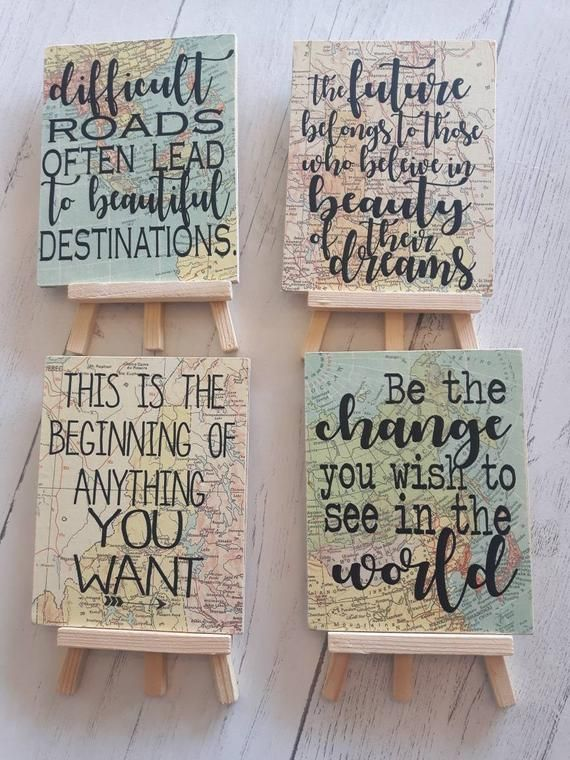 Travel themed 2018 Graduation centerpieces, inspirational signs for Graduation gifts Graduation party decor, Grad 2019 Adventure Awaits
