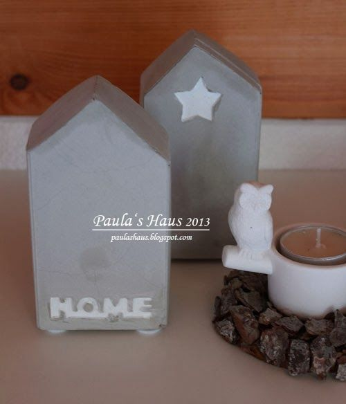 Paula's Haus: DIY-Beton-Dekohaus ...