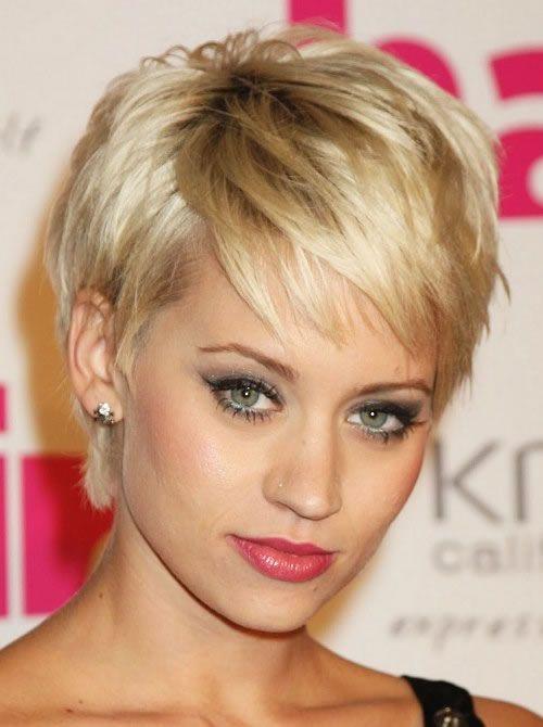 Best 25+ Short fine hair ideas on Pinterest   Fine hair cuts, Fine ...