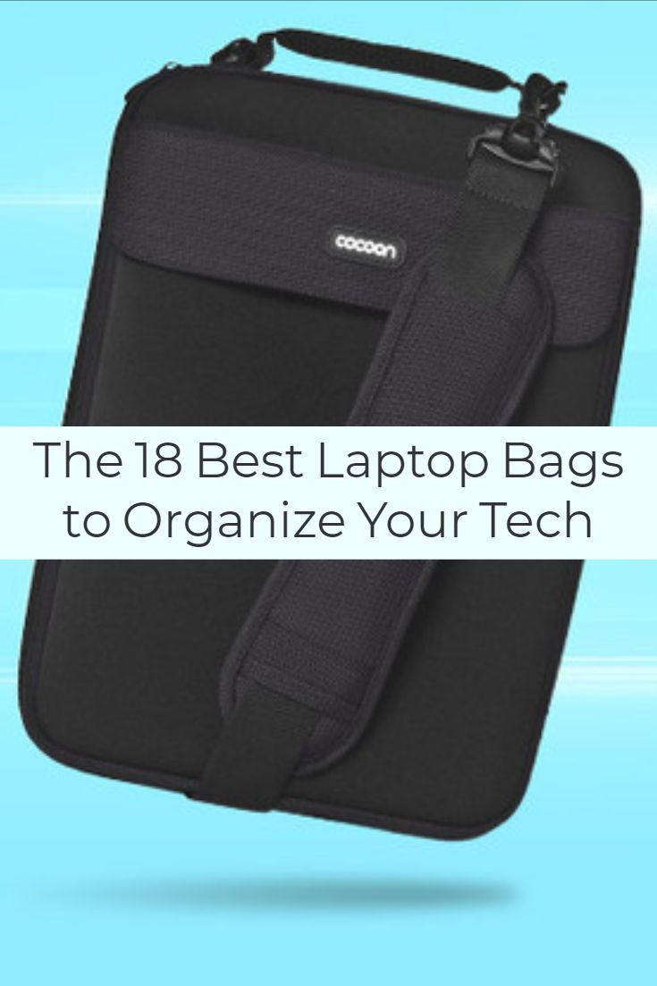 These stylish and functional tote and messenger bags for men and women will  keep you organized on the go.  bags  organize  laptops f216994becb36