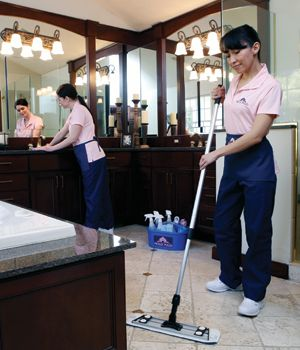 Which Rooms Are Included in a Molly Maid Cleaning Service Plan?