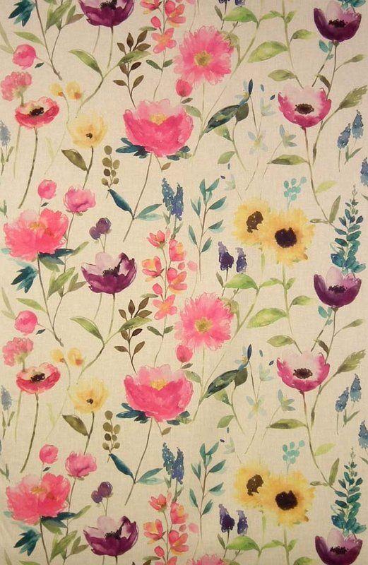 Flower Field Linen (10808-100) – James Dunlop Textiles | Upholstery, Drapery & Wallpaper fabrics