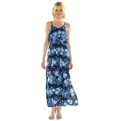 LC Lauren Conrad Floral Popover Maxi Dress - Women's