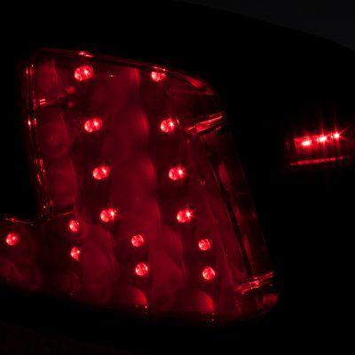 Mitsubishi Lancer 2008-2015 LED Tail Lights Smoked