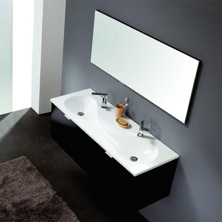 Doppelwaschtisch mit unterschrank und spiegelschrank  Die besten 25+ Doppelwaschtisch mit unterschrank Ideen auf ...
