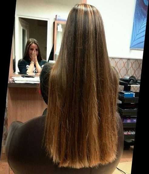 super long hair cut