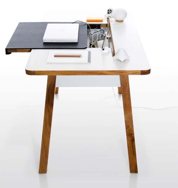 42 gorgeous desk designs for any office - Designer Writing Desk