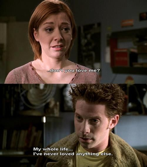 buffy the vampire slayer willow and oz meet