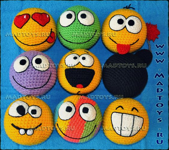 Crochet Amigurumi Smiley Faces : 17 Best images about Smileys-Funny and Confused on ...