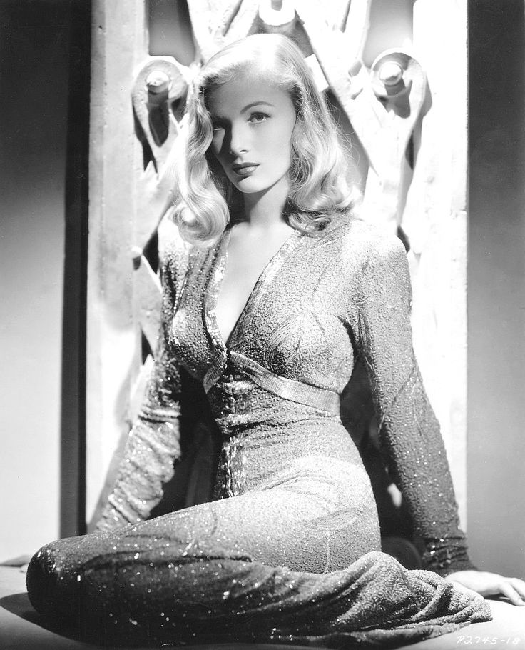 We Had Faces Then — Veronica Lake, 1941