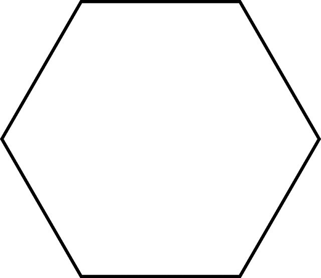 Current image intended for hexagon printable