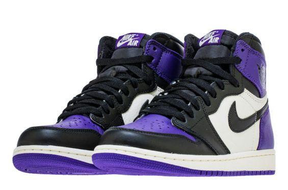 The Air Jordan 1 Retro High OG Court Purple Arrives In Two Weeks ...