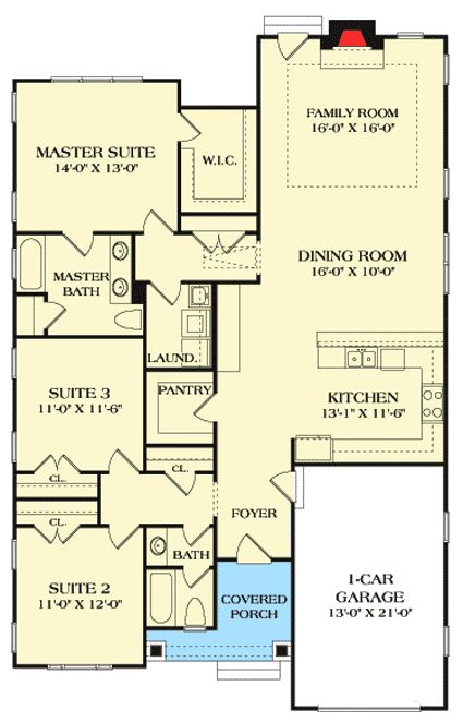 Best 25 starter home plans ideas on pinterest house for Starter home floor plans