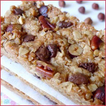 Pour combler votre envie de sucré sans culpabilité, les barres de céréales sont idéales pour faire le plein d'énergie lors du petit-déjeuner ou du goûter !