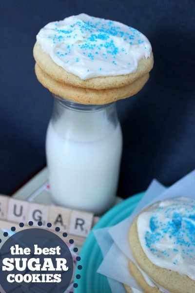 The best homemade sugar cookie recipe + an amazing frosting!