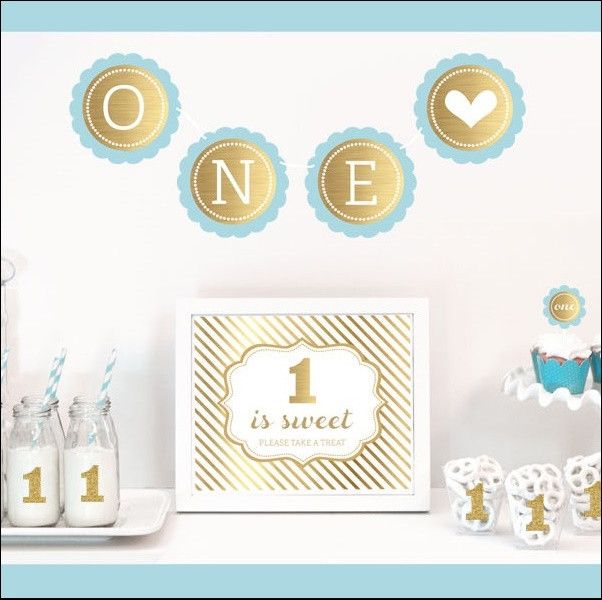 1000 Ideas About 1st Birthday Banners On Pinterest: 1000+ Ideas About First Birthday Decorations On Pinterest