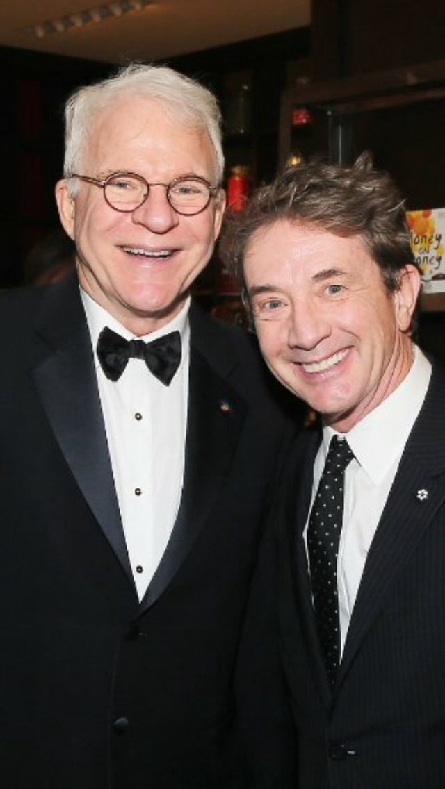 Steve Martin and Martin Short. I saw them together in KC. They were so funny, and Steve Martin sang with his band!