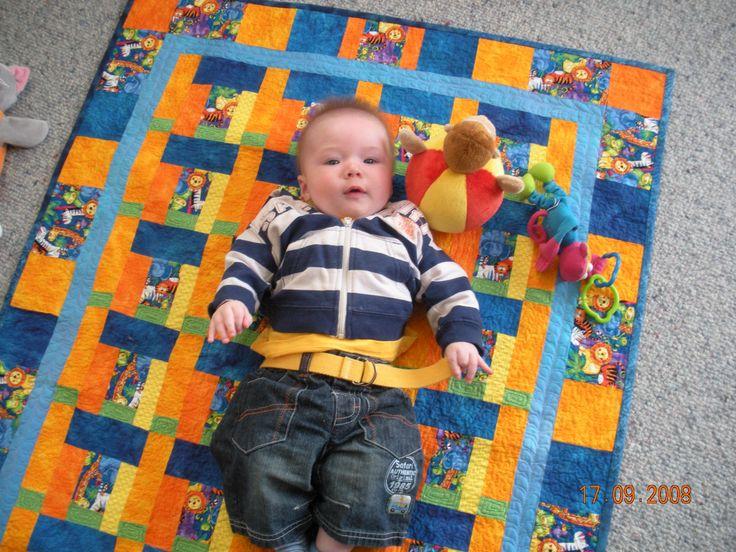 Floor quilt for kids