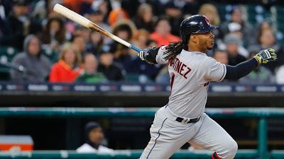 MLB: Martínez utility de Indios se desgarra el tendón de Aquiles