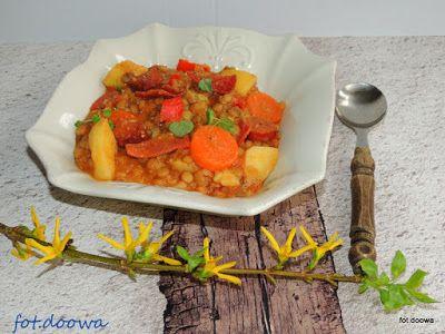 Moje Małe Czarowanie: Hiszpańska zupa z soczewicy - Lentejas