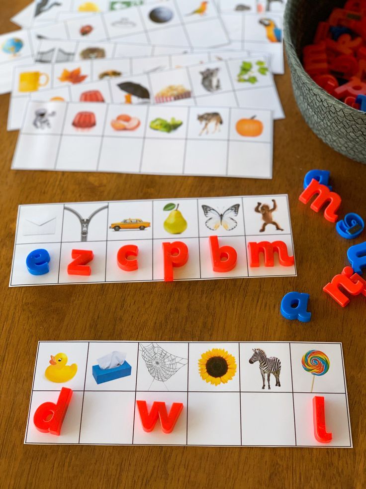 Beginning Sound Match Cards – you clever monkey